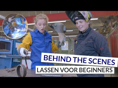 Lassen Voor Beginners   Leren Lassen Met Laskampioen Brenda Vermeiren   Behind The Scenes