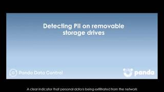 Detecting Personal Data on removable storage drives: Panda Data Control
