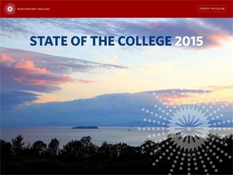 Burlington College State of the College