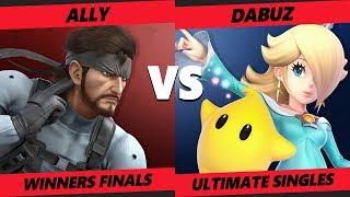 Smash at the Paramount SSBU - Ally (Snake) Vs. TL   Dabuz (Rosalina) Smash Ultimate Winners Finals