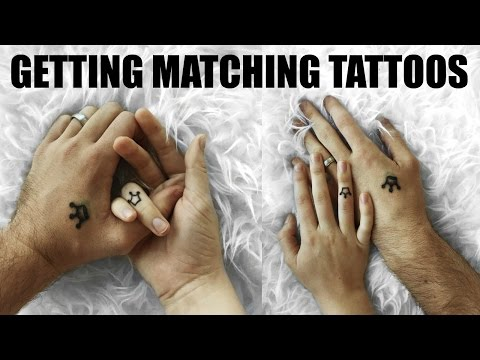 WE GOT MATCHING TATTOOS   18 & Married Adventures