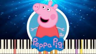 Peppa Pig Theme Song Piano Remix - NPT MUSIC
