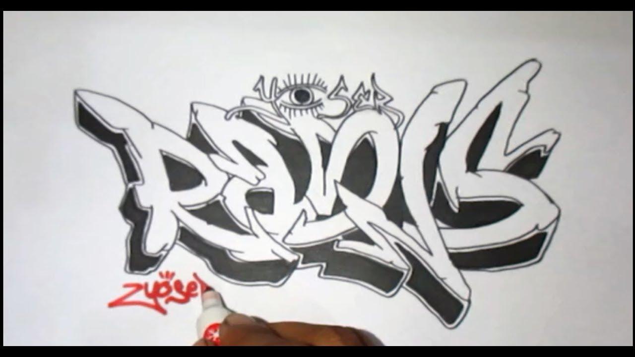 Graffiti kertas request