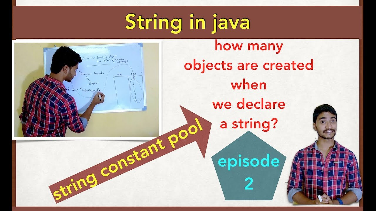 String Object Creation in Java: Introducing String Constant Pool