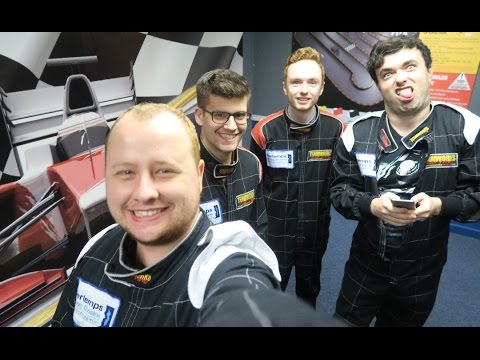 F1 Youtubers vs Codemasters | Go Karting
