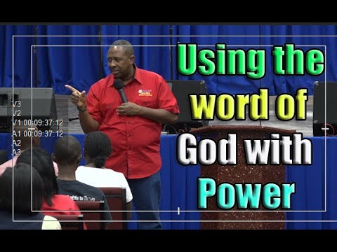 Apostle Andrew Scott-Using The word Of God With Power