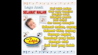 Selamat Malam (lullaby song for children / lagu anak nina bobo) Mp3