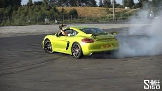 A Day of Supercar Fun - Bye Bye GT4 Tyres!