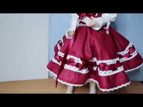 【bjd】How to make a lolita style doll dress
