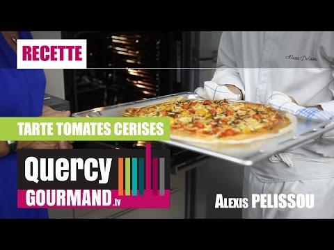 Recette : Tarte aux tomates cerises – quercygourmand.tv