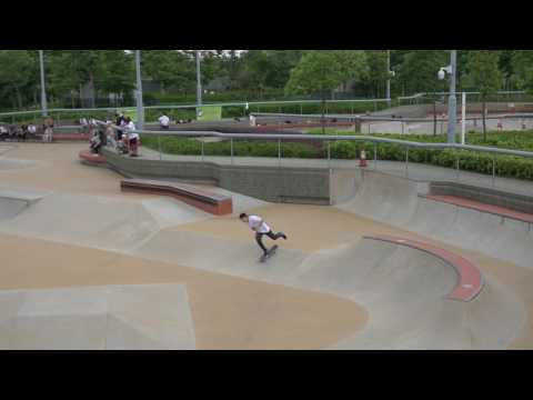 Hong Kong Street Skateboarding Contest 2016 Qualifier Neris Second Run
