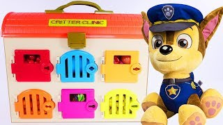 PAW PATROL Animal Clinic Best Learning Videos for COLORS - Play Doh Paw Patrol Episodes
