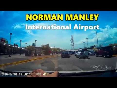 Driving from Norman Manley International Airport | Kingston, Jamaica