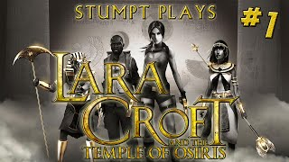 Stumpt Plays - Lara Croft and the Temple of Osiris - #1 - Angry Crocodiles (4 Player Gameplay)