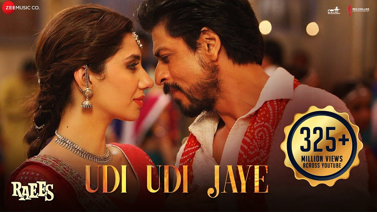 Download Udi Udi Jaye | Raees | Shah Rukh Khan & Mahira Khan | Ram Sampath