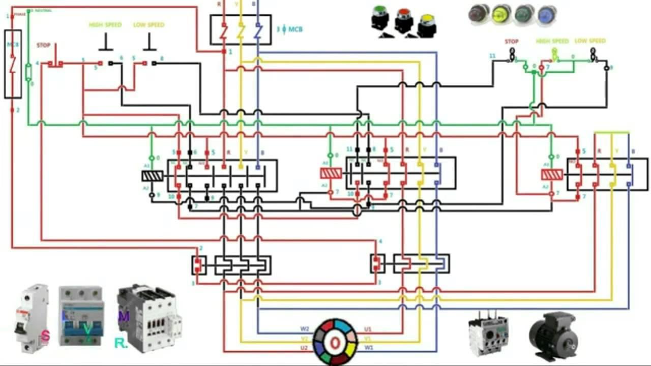 220 Volt 2 Pole Contactor Wiring Diagram