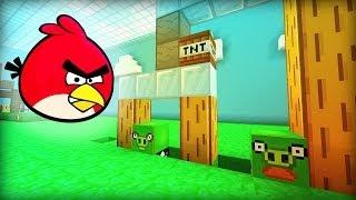 Minecraft ANGRY BIRDS