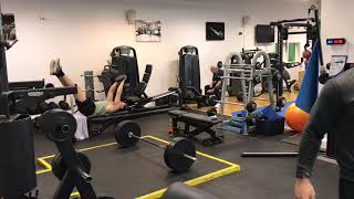 JAPANESE JUDO WARM UP, SHOULDER REHAB AND PB MUSCLE SNATCH