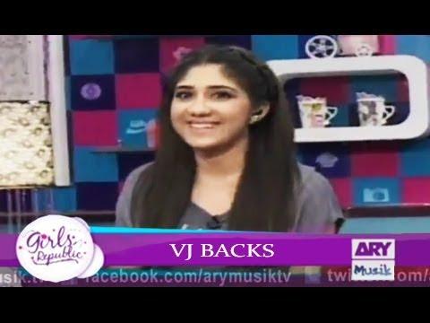 Girls Republic | VJ Backs  |  Topic - Apko Ki Cheez Se Dar Lagta Hai? | ARY Musik