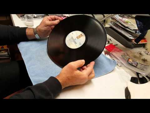 Best way to clean your vinyl records. It is also the most economical!