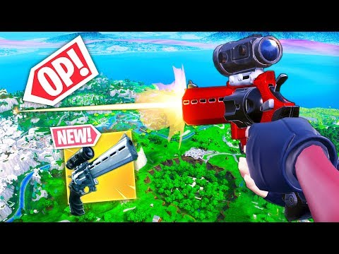 *NEW* SCOPED REVOLVER BEST PLAYS!! - Fortnite Funny WTF Fails and Daily Best Moments Ep. 873 thumbnail