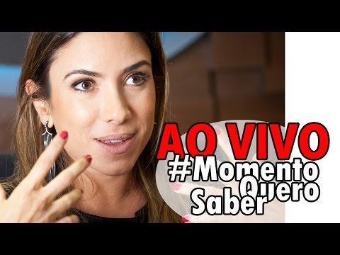 Patricia Abravanel, HOMOFÓBICA ou IGNORANTE? E muito mais! | [AO VIVO] #MomentoQueroSaber 09/05