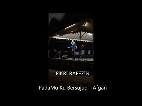FIKRI RAFEZIN- Pada Mu Ku Bersujud by Afgan (Cover)