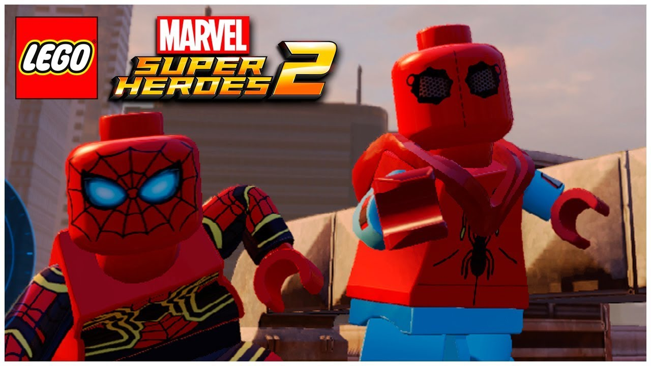 Spider Man Homecoming Homemade Suit From Lego Marvel Superheroes 2
