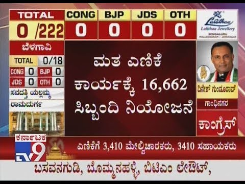 Karnataka Election Results 2018 Live: Counting Of Votes To Begin At 8 am Amid Tight Security