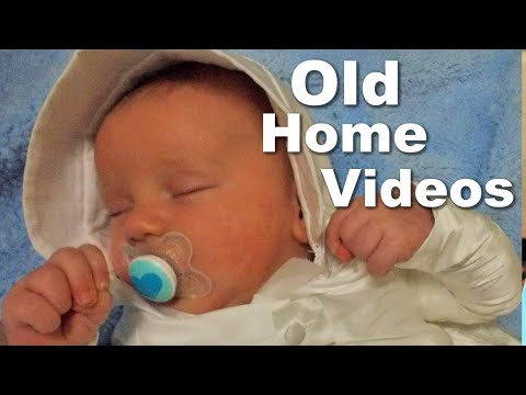 Our Autistic Son from 0-1 in Old Home Videos