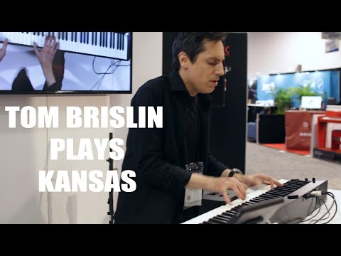 Tom Brislin LIVE at NAMM:  Song for America