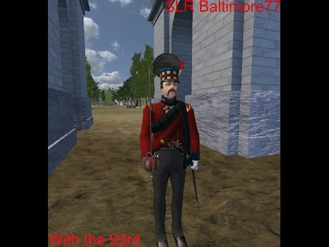 Mount and Blade Warband: NW 93rd Linebattle, 1/5/2015