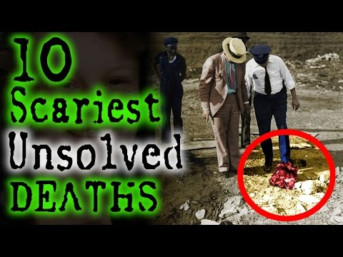 10 Terrifying UNSOLVED DEATHS | TWISTED TENS #25