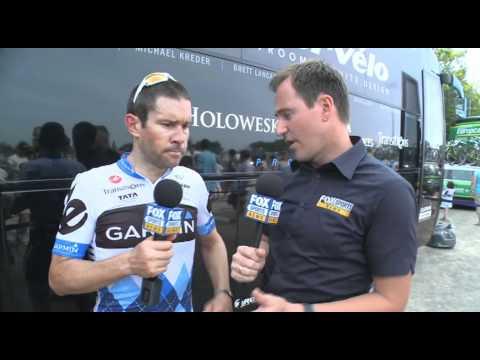 2011 Tour de France stage 3 wrap with Julian Dean