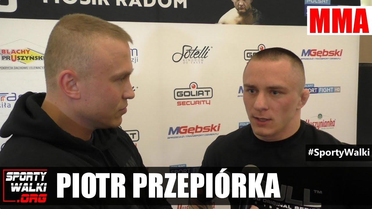 Babilon MMA 3: Piotr Przepiórka o walce z Adamem Biegańskim