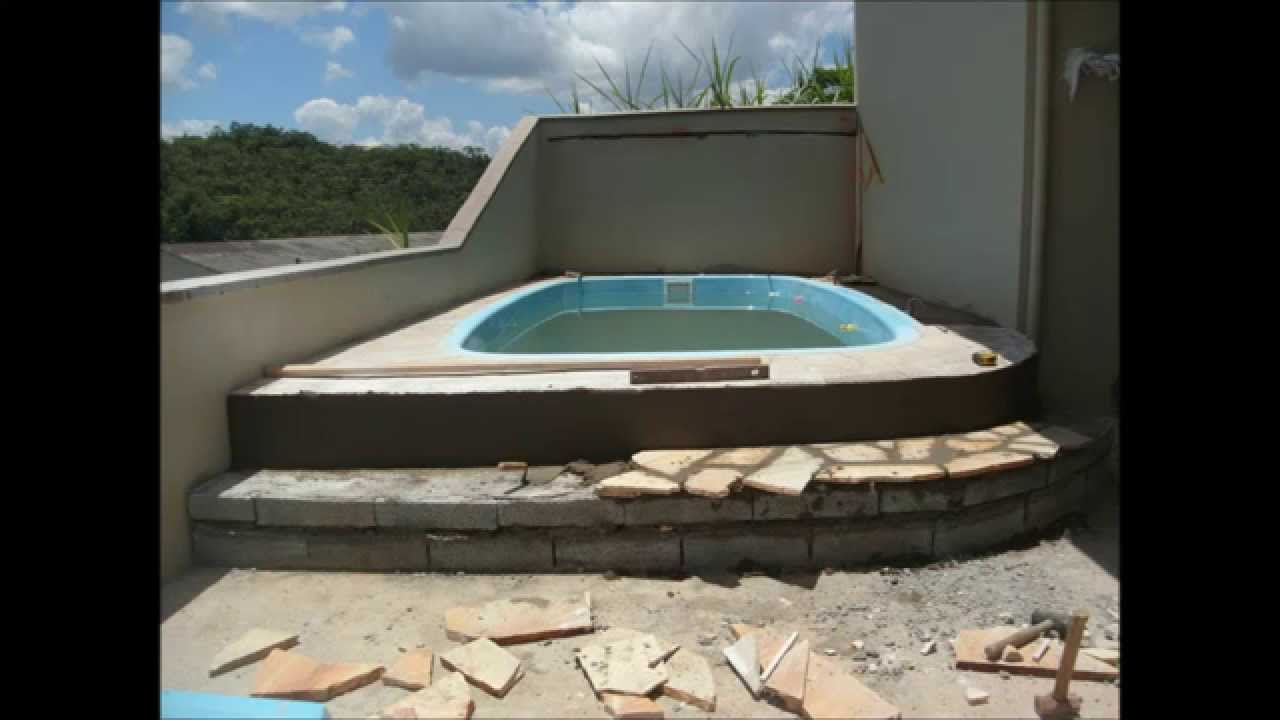 Construcao De Piscina Youtube
