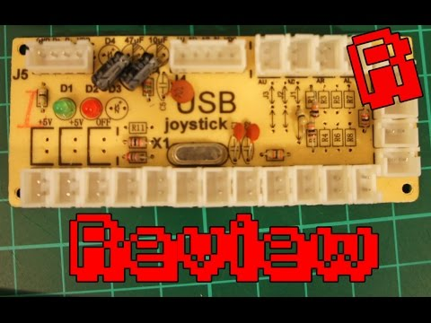 Zero Delay USB Arcade Encoder | Review & Playtest