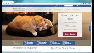 Pet Insurance Reviews - Trupanion Pet Insurance Free Quote Tool Demonstration
