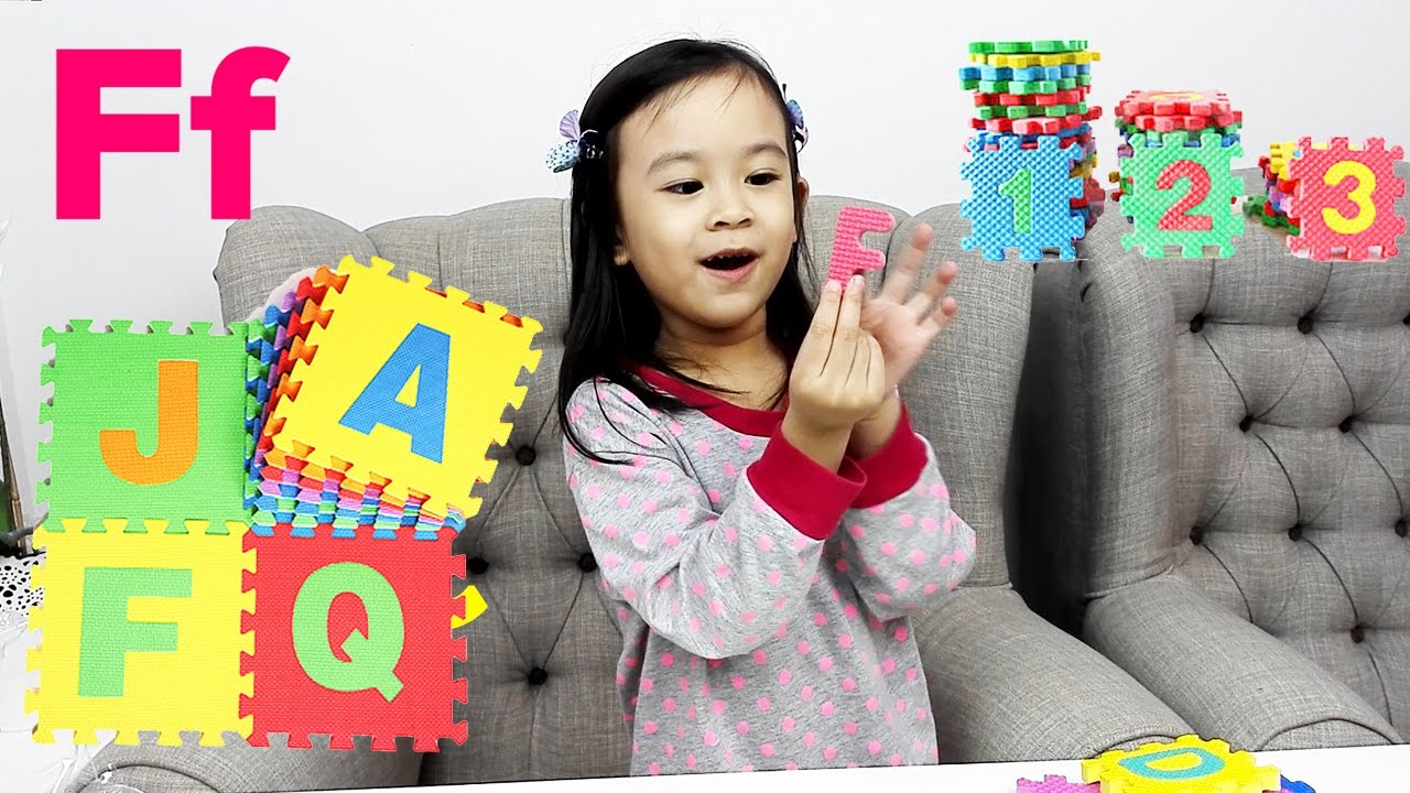 Kid Play And Learn Abc Learning The Alphabet With My Abc