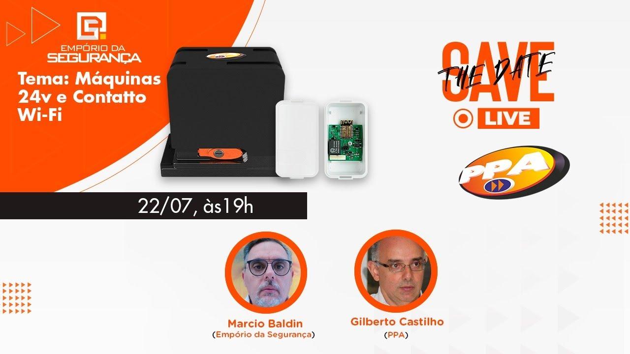 LIVE | Linha de Produtos PPA - Linha 24v & Módulo Wifi + Sorteio!