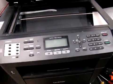 How To Replace Front Control Panel Screen On Brother Mfc 8910dw Laser Printer Mfc 8510dn Mfc 8710 Youtube
