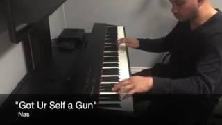 EAST COAST HIP HOP PIANO MEDLEY (15 beats)