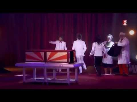 Beyouna participe un tour de magie france2 gala de l - Tour de magie la femme coupee en deux ...