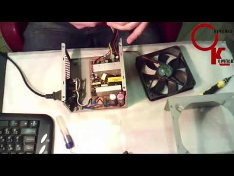 замена кулера на видеокарте