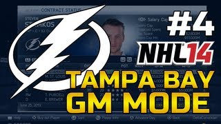 NHL 14 GM Mode: Tampa Bay Lightning Ep. 4 - Streaking!