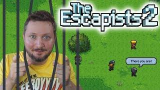 FLYGTER, VI SES! - The Escapists 2 Dansk Ep 2