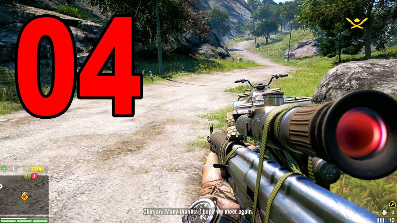 Far Cry 4 Part 4 Sniper Rifle Let S Play Walkthrough Ps4