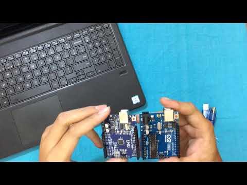 So Sánh Arduino Uno R3 chíp cắm và chíp dán