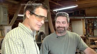 Craig Lehigh Builds Custom Screen Doors In Western Maine