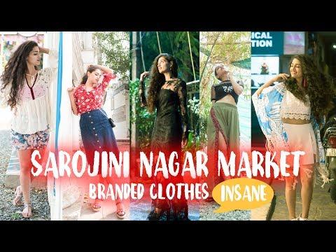 SAROJINI NAGAR High-End Fashion   You will be SHOCKED!    Diksha Vohra